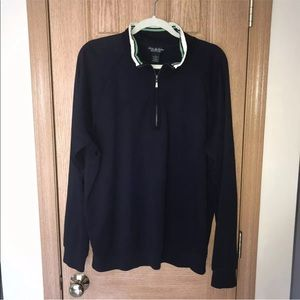 Brooks Brothers Country Club Long Sleeve 1/3 Zip